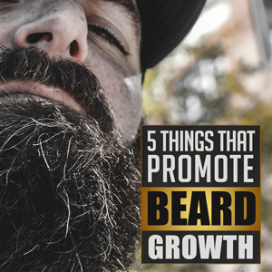 Promoting facial hair growth