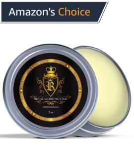 Royal Beard butter pine scent