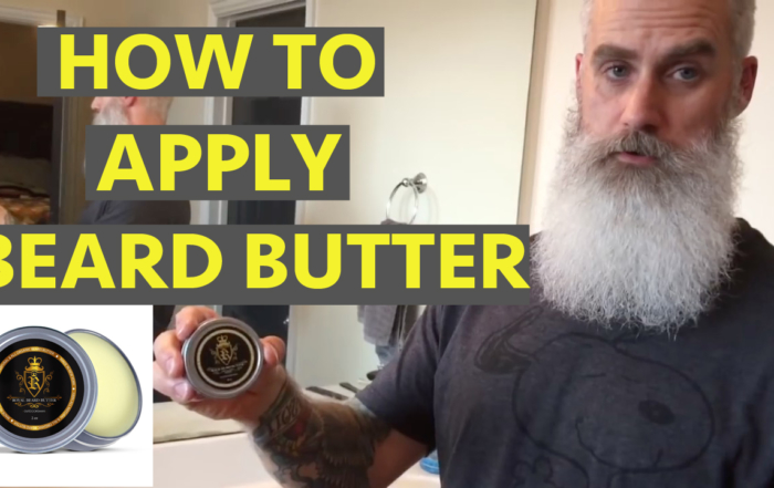 How To Apply Beard Butter